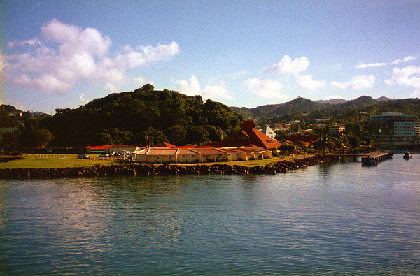 Island Photograph - St Lucia Welcome Center by Russ Mullen