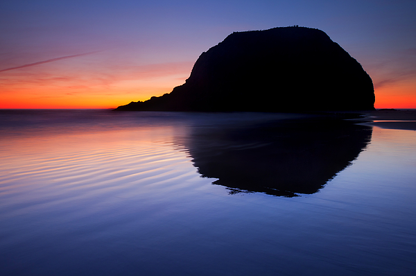 Seastack Photograph - Stack Reflections by Mike  Dawson