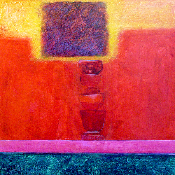 Abstract Painting - Stacked Cups by Dale  Witherow