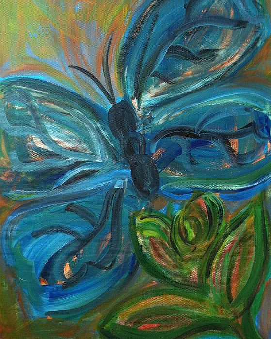 Nature Painting - Stages Of Freedom by Bethany Stanko