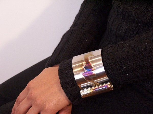Stainlesss Steel Cuff Jewelry by Jeff Williams