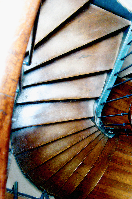 Stairs Photograph - Stairs Paris by Keith Campagna