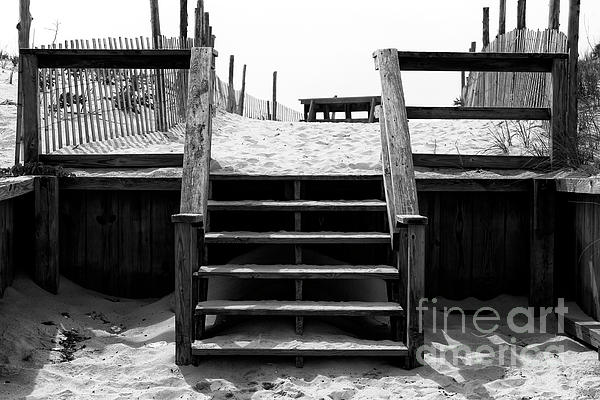 Stairs Photograph - Stairway To Lbi Heaven by John Rizzuto