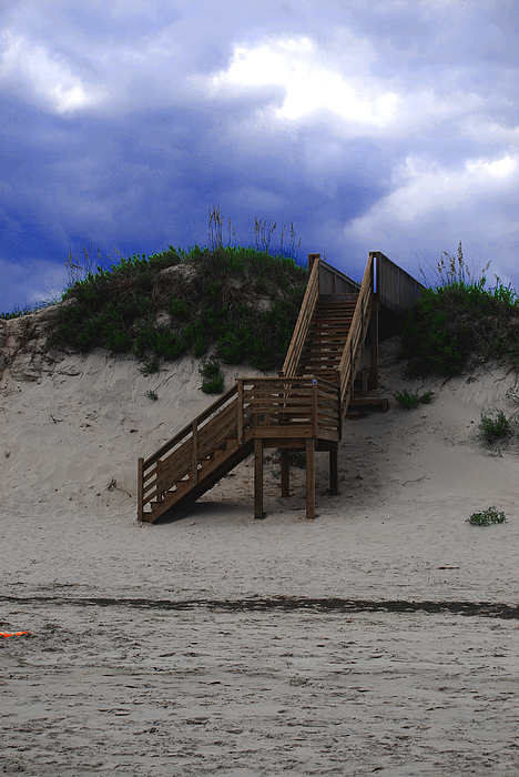 Dunes Photograph - Stairway To Reality by Linda Mesibov