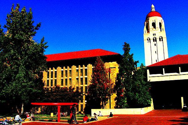 Stanford University Photograph - Stanford University - Stanford Ca by Fareeha Khawaja