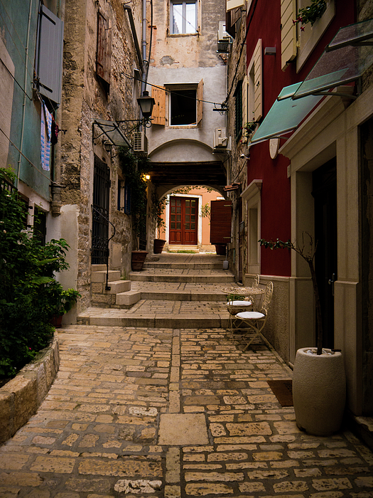 Rovinj Photograph - Stari Grad Steet by Rae Tucker