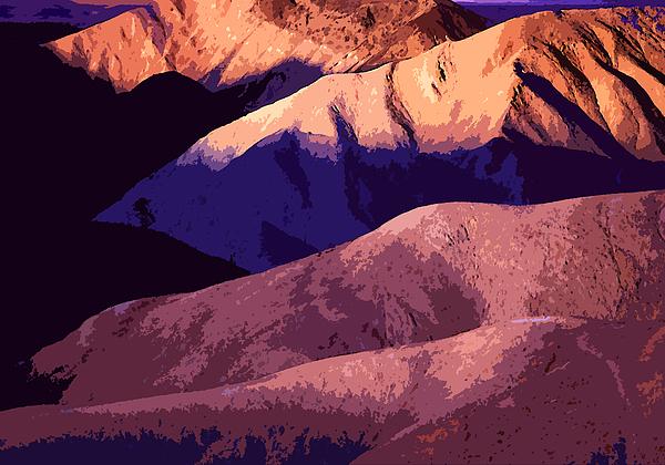 Deserts Photograph - stark Sunrise by Dean Uhlinger