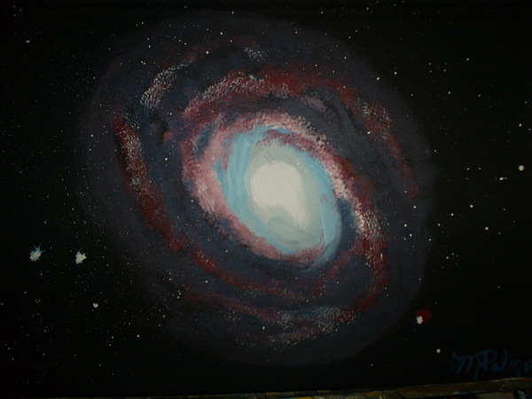 Stars Painting - Stars by Margaret Palmer