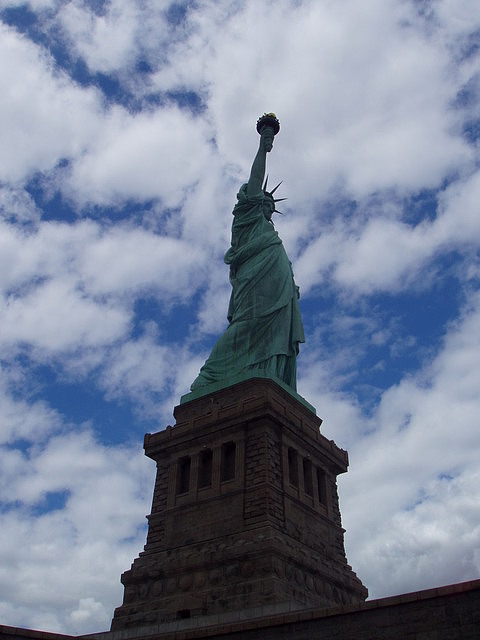 Statue Of Liberty Photograph by Tracy Corcoran