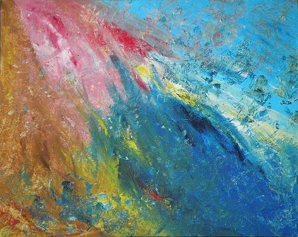 Inner World Painting - Steadfast by Christine Martin