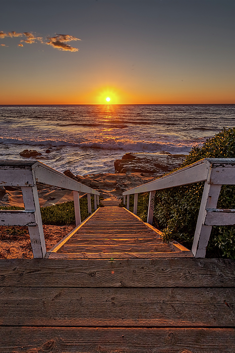 California Photograph - Steps To The Sun  by Peter Tellone