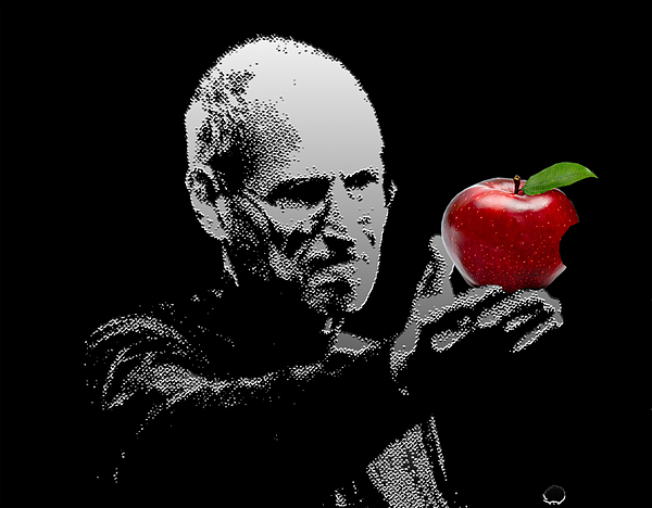 Steve Jobs Digital Art - Steve Jobs The Visionary by Nandan Nagwekar
