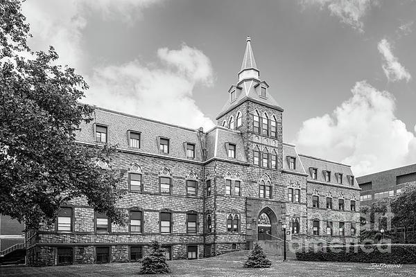 Debaun Auditorium Photograph - Stevens Institute Of Technology Stevens Hall by University Icons