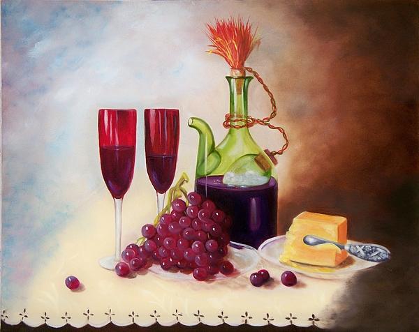 Still Life Painting - Still Life 5 by Joni McPherson