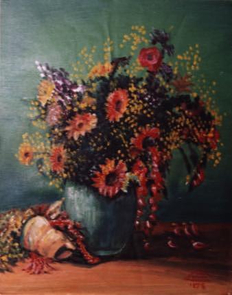 Still Life Painting - Still Life by Ahmed Abdel Fattah