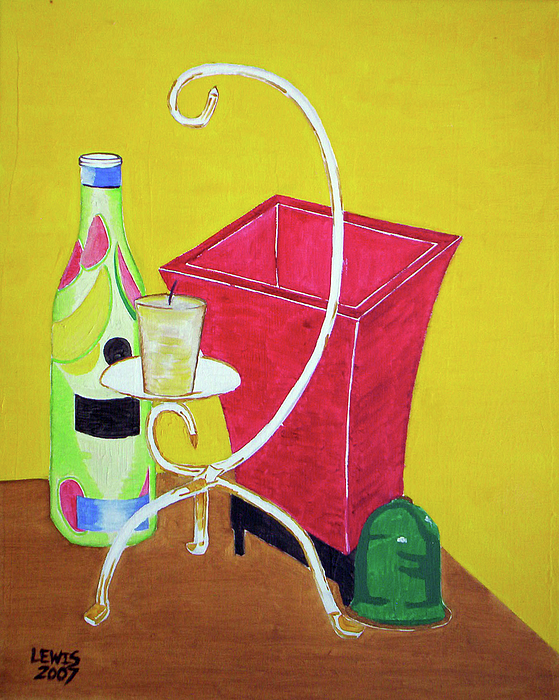 Still Life Painting - Still Life by Christopher Lewis