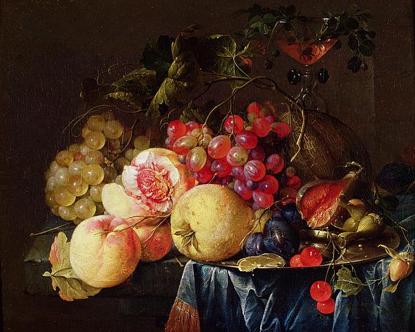 Still Painting - Still Life by Cornelis de Heem