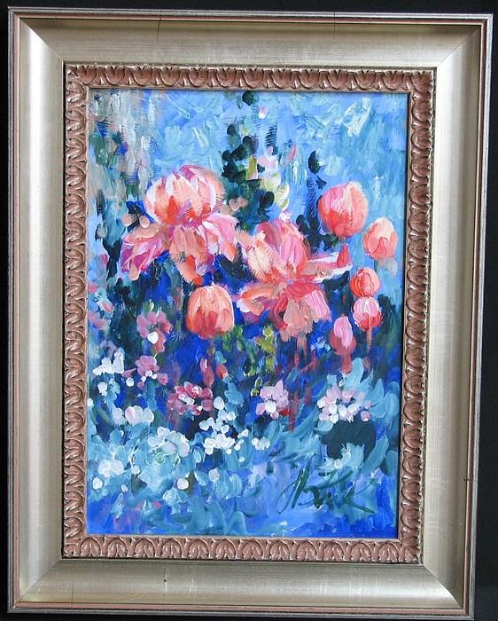 Floral Still Life Painting - Still Life Floral by Kruk