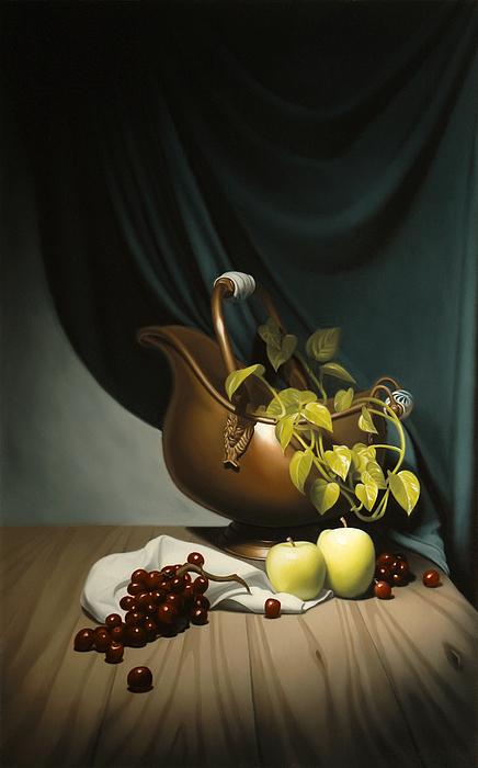 Still Life Painting Painting - Still Life Painting Zanndam Evening by Eric Bossik