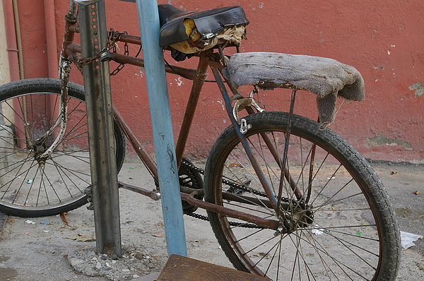 Bike Photograph - Still Rolling by Don Prioleau
