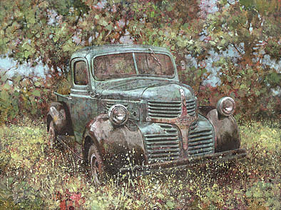 Dodge Painting - Still Smiling After All These Years by David Lyons