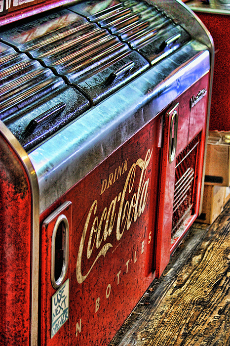 Coke Photograph - Still The Real Thing by Joetta West