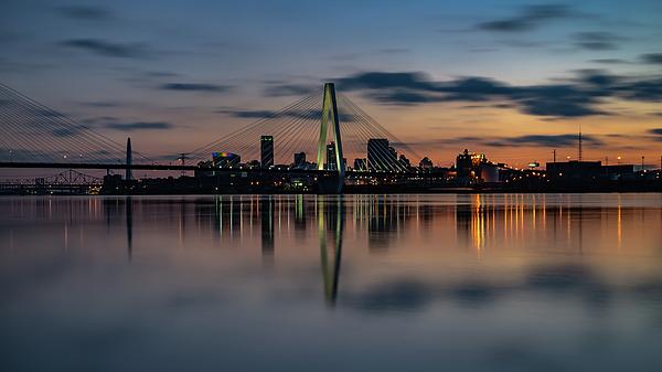 Cityscape Photograph - Stl Cityscape by Jae Mishra