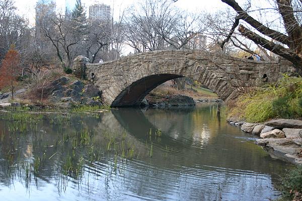 Bridge Photograph - Stoned Bridge by Dennis Curry