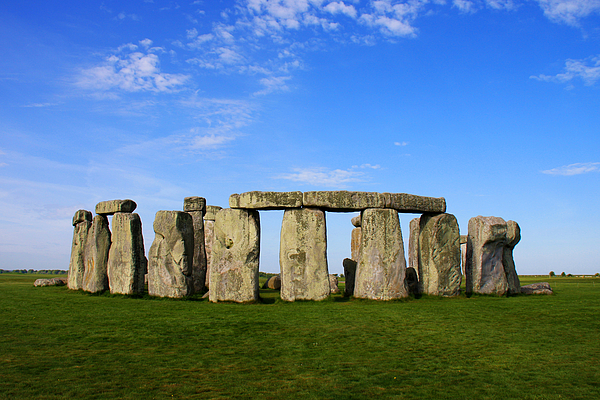 Clear Photograph - Stonehenge On A Clear Blue Day by Kamil Swiatek