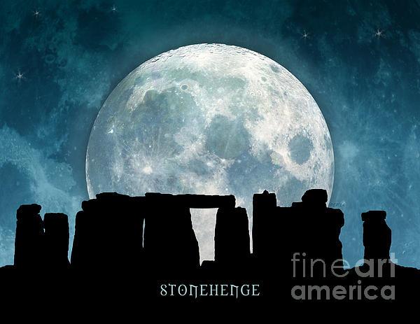 Stonehenge Digital Art - Stonehenge by Phil Perkins