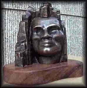 Stonewarrior Sculpture by Kit Carson