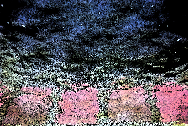 Abstract Photograph - Storm by Carl Ellis