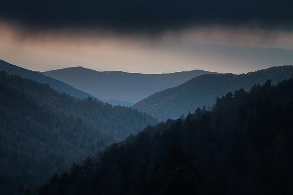 Smokies Photograph - Storm Clouds Over The Smokies by Andrew Soundarajan