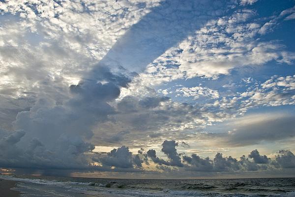 Storm Photograph - Storm On The Gulf by Jennifer Kelly