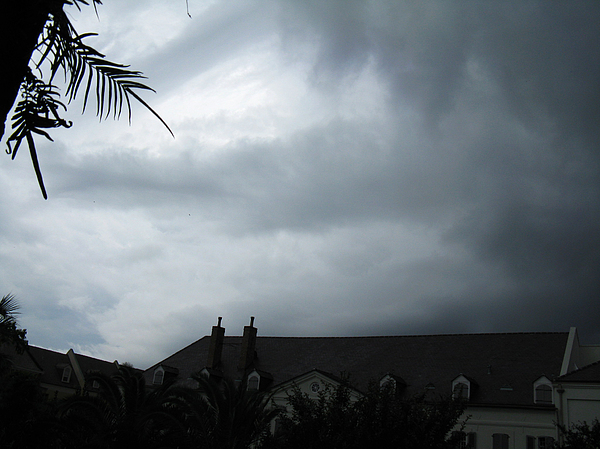 Clouds Photograph - Storm Over The Convent by Tom Hefko