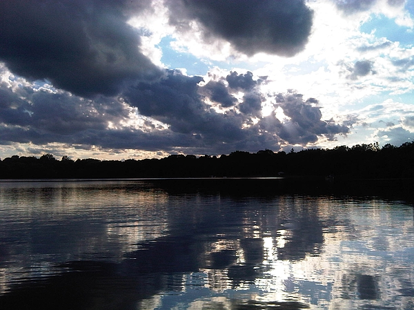 Minnesota Photograph - Stormy Reflections by Jessica Yudis