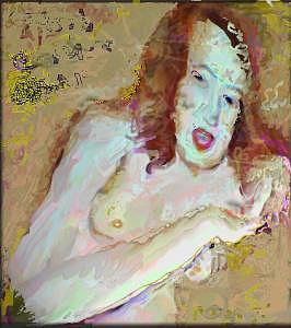 Nude Painting - Storyteller   by Noredin Morgan