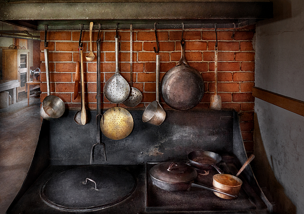 Hdr Photograph - Stove - The Gourmet Chef  by Mike Savad