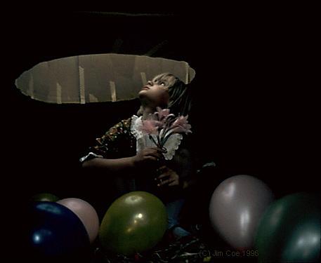 Children Photograph - Strange Birthday by Jim Coe