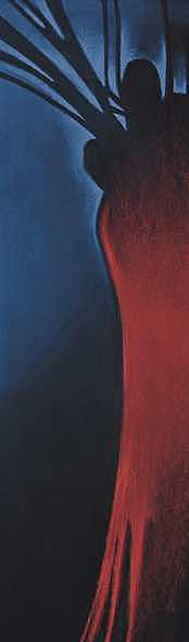 Abstract Painting - Strange Fruit by W James Taylor