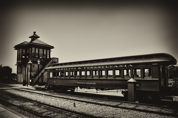 Lancaster County Photograph - Strasburg Rail Road by Bill Cannon
