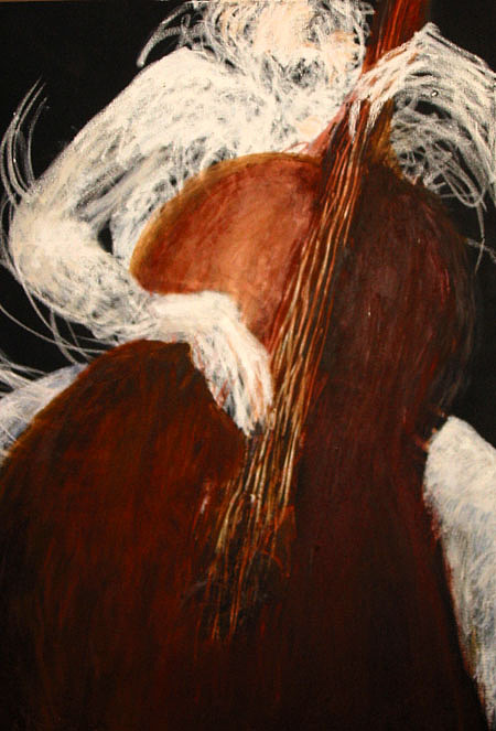 Passion Painting - Strings 2000 by Patricia Obletz