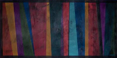 Acrylic Painting - Stripes by Tracy Gavin