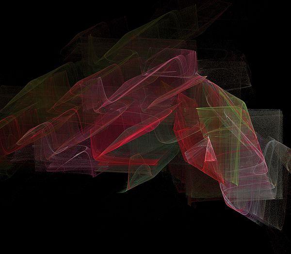 Digital Digital Art - Study In Space by Thomas Smith