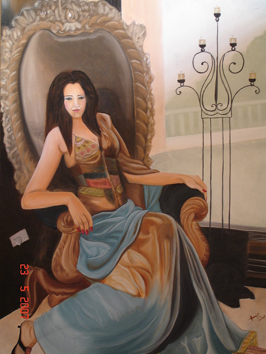 Style Diva Painting by Rupavani Talari