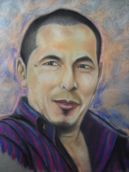Portrait Drawing - Suhaimi Abd Rahman by Aizam Solihin
