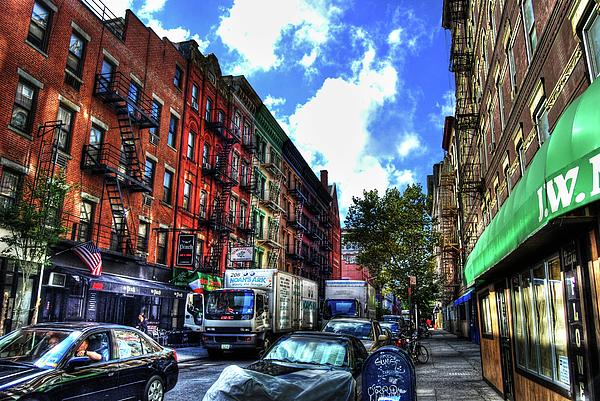 Greenwich Village Photograph - Sullivan Street In Greenwich Village by Randy Aveille