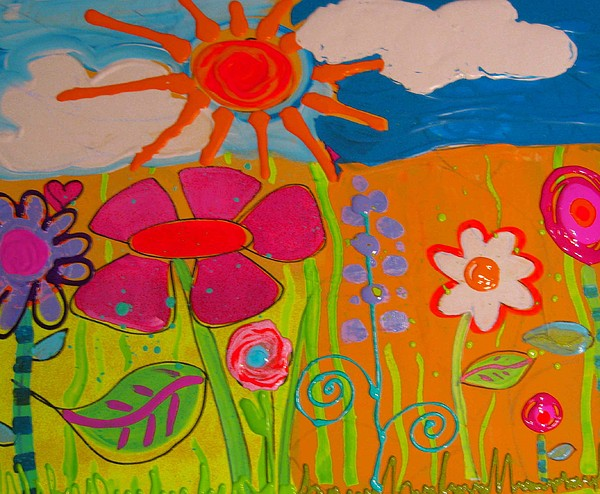 Sun Painting - Summer Day by Sandie Smith