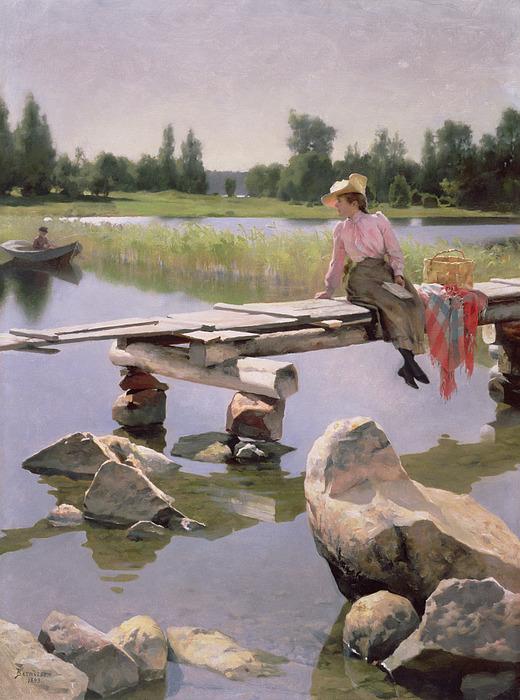 Summer Painting - Summer by Gunnar Berndtson