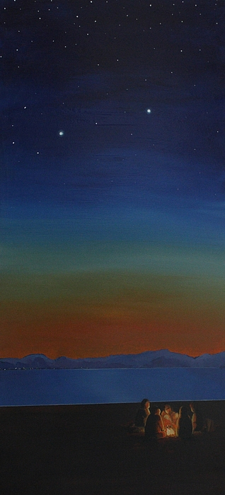 Camping Painting - Summer In The Northwest by Jennifer Lynch